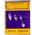 Jimmy Greaves'autograph is the red scrawl between 'Christmas Show' and the Beatle's photo.