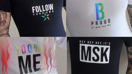 Some of the designs available within the range.