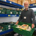 Tim Morton who works for Cromer food bank at Cromer Methodist Church. Picture: Danielle Booden