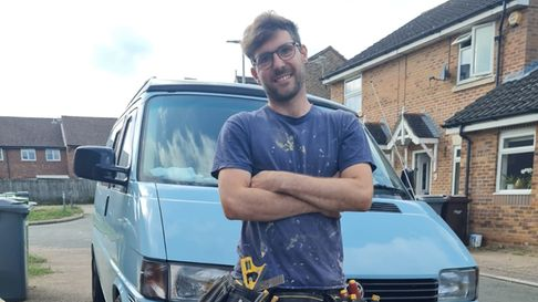 Carpenter Andy Walker-Hall from Norwich who trades as Handy Andy
