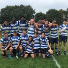 Wanstead under-16s face the camera after Woodford victory