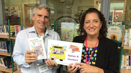 Orchards C of E Primary and Nursery Academy in Wisbech waspraised by author, Richard O'Neill