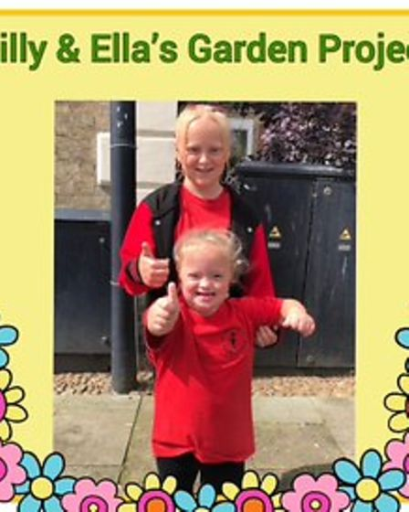 Can you help volunteer or donate to Lilly and Ella's Garden Project?