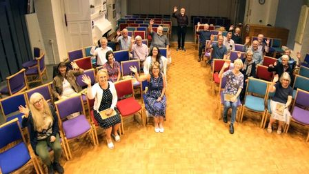Carillon Chamber Choir waves goodbye to the St Albans music scene.