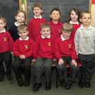 Bacton Primary School students at the start of their school lives