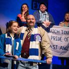 Cast of Never Lost at Home at the New Wolsey