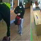 Three images of David released by Devon and Cornwall Police