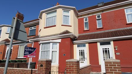 The property in Midvale Road, Paignton