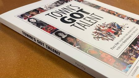 The front cover of Paul Fry's new book, showcasing the sporting success stories of Stevenage.