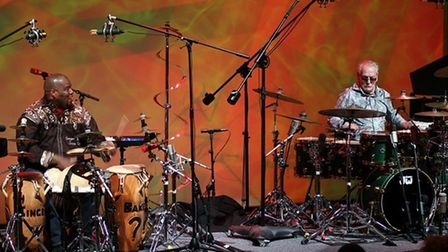 Hackney drummer Abass Dodoo is paying tribute to legendary drummer Ginger Baker at Hackney Empire.