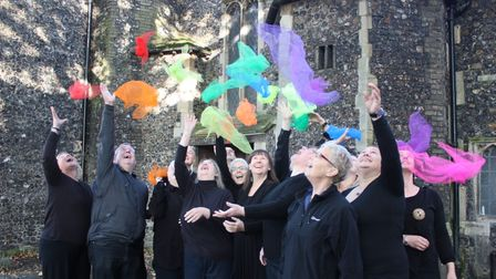 Sing with pride is for anyone and helps to combat loneliness especially for the city's LGBT+ community
