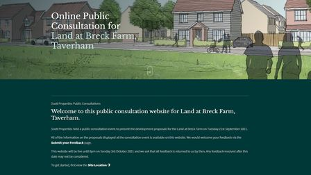 The consultation is now live for villagers to leave their feedback