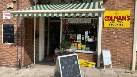 PJ Pet Supplies is a small independant pet shop in West Earlham.