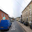 Four people were arrested at a property in St George's Street