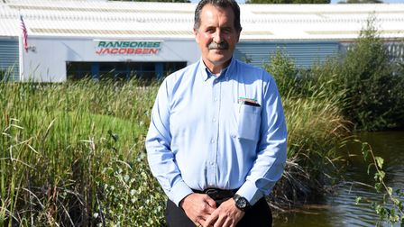 Ransomes Jacobsen employee has worked at the factory for 50 years PICTURE: CHARLOTTE BOND