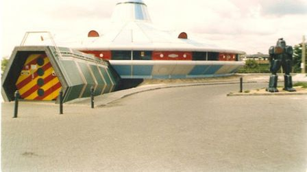 The Megatron was based at Alconbury and was demolished in 2008.