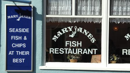 Shop Local in CromerGood places to eat around the townMary Janes Fish and ChipsPicture: Jame