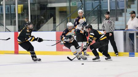Romford Junior Raiders in action against Chelmsford Chieftains