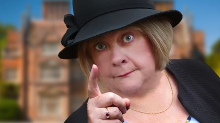 Lyndsey King plays Miss Marple in the Mundesley Players production of A Murder Is Announced.
