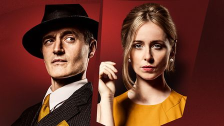 Dial M For Murder stars Tom Chambers and Diana Vickers.