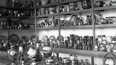 A display of products from Longpark Pottery (PR19357)