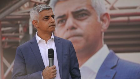 London Mayor Sadiq Khan is warning that time is running out to act on the climate emergency