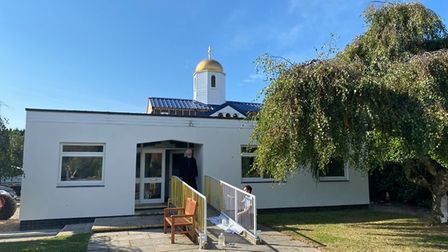 St Fursey's, an Orthodox Christian chapel on Yarmouth Road in Stalham.