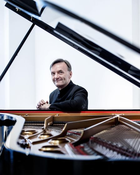 Pianist Stephen Hough will makehis Cambridge Music Festival debut atWest Road Concert Hall onThursday, October 7