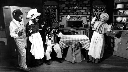 Goldilocks panto at the Maddermarket Theatre, 1985. Picture: Archant Library