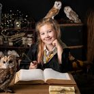 Evie Forsdick owns her own business 'Evies Owls' at age 9.