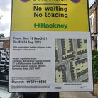 Parking suspension notices have been erected on roads near Stoke Newington Church Street causing concern for some residents.