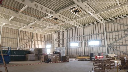 Great Yarmouth Marina topping out ceremony. Interior views. Pictures: Brittany Woodman