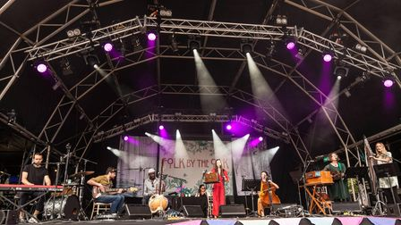 The Lost Words - Spell Songs performing at Folk by the Oak 2019 at Hatfield House