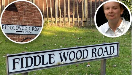 Fiddlewood or Fiddle Wood? This Norwich road can't make up its mind
