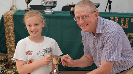 Hutton's horticultural show.