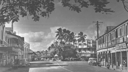 Victoria Parade, Suva,1940s. Both Torquay and Suva grew rapidly in the late19th century and consequently share street names