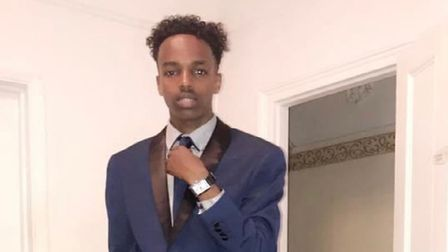 Fatal shooting victim Sharmake Mohamud, 22, from Newham