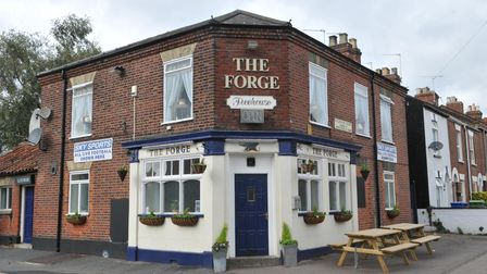 Pub of the Week, The Forge in Philadelphia Lane, Norwich.; Photo by Simon Finlay