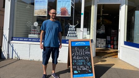 Jim Smith, operations manager of the Adnams store in Unthank Road