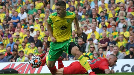 Norwich City attacker Milot Rashica has not trained for the last two days with a muscle issue