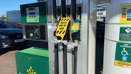 Morrisons had to start shutting off pumps at Riverside because supplies began to run dry
