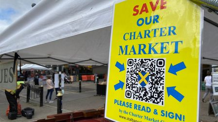 The public and market traders are invited to an open meeting on the future of St Albans Charter Market.