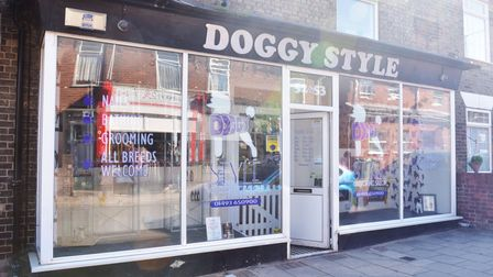 Doggy Style Salon celebrates 20 years of business. Located on Bells road Gorleston. Pictures: Britta