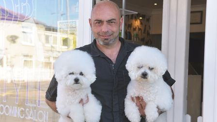 Doggy Style Salon celebrates 20 years of business. Located on Bells road Gorleston. Owner Lee Studho