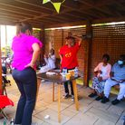 A singalong afternoon tea andgarden party hosted by Peabody at St Peter's House onBethune Road.