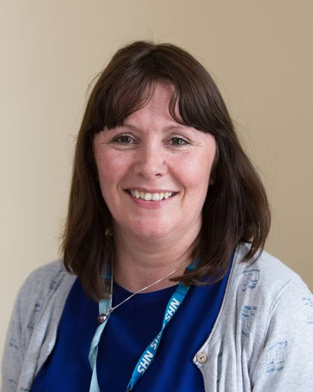 Susan Stolworthy, operational manager with the Norfolk and Waveney community perinatal mental health