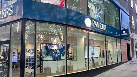 Pavers' new store on Brigg Street in Norwich