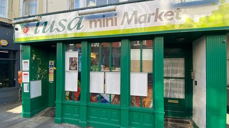 Jose Santos owns the Lusa Mini Market on King Street. Mr Santos moved to Great Yarmouth in 2001.