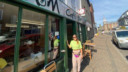 Mara Carmo moved to Great Yarmouth from London to start a family.