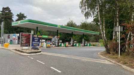 The BP garage off the A11 heading soutbound near Thetford was out of fuel